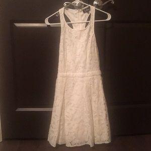 worn once. white dress